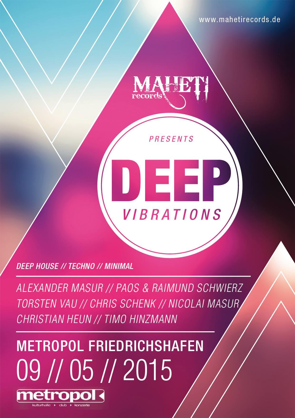 09.05.15 Deep Vibrations @ Metropol, Friedrichshafen