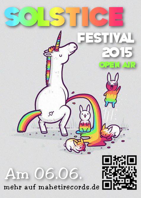 06.06.15 Solstice Festival! Open Air in geiler Atmosphäre!