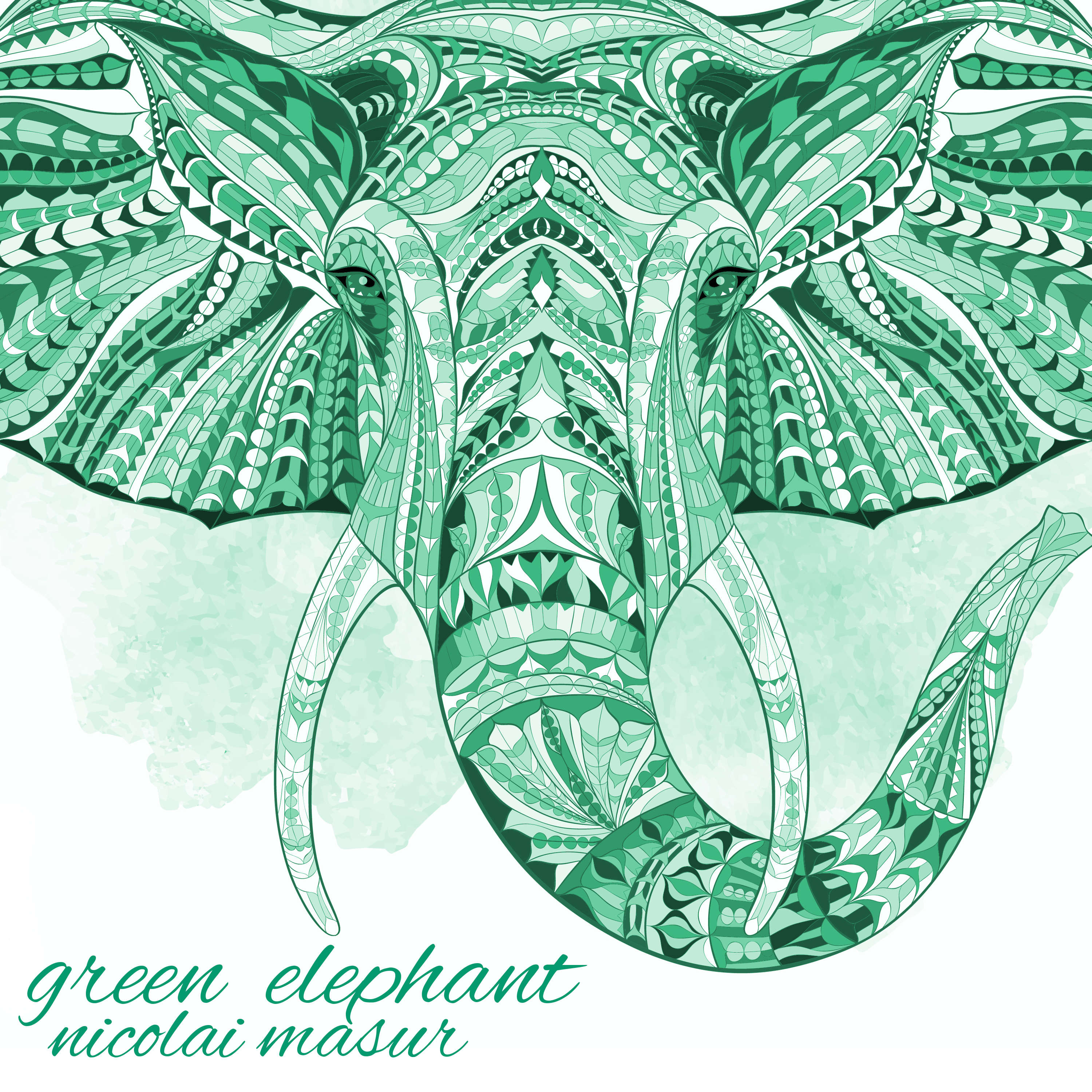 Cover Green Elephant