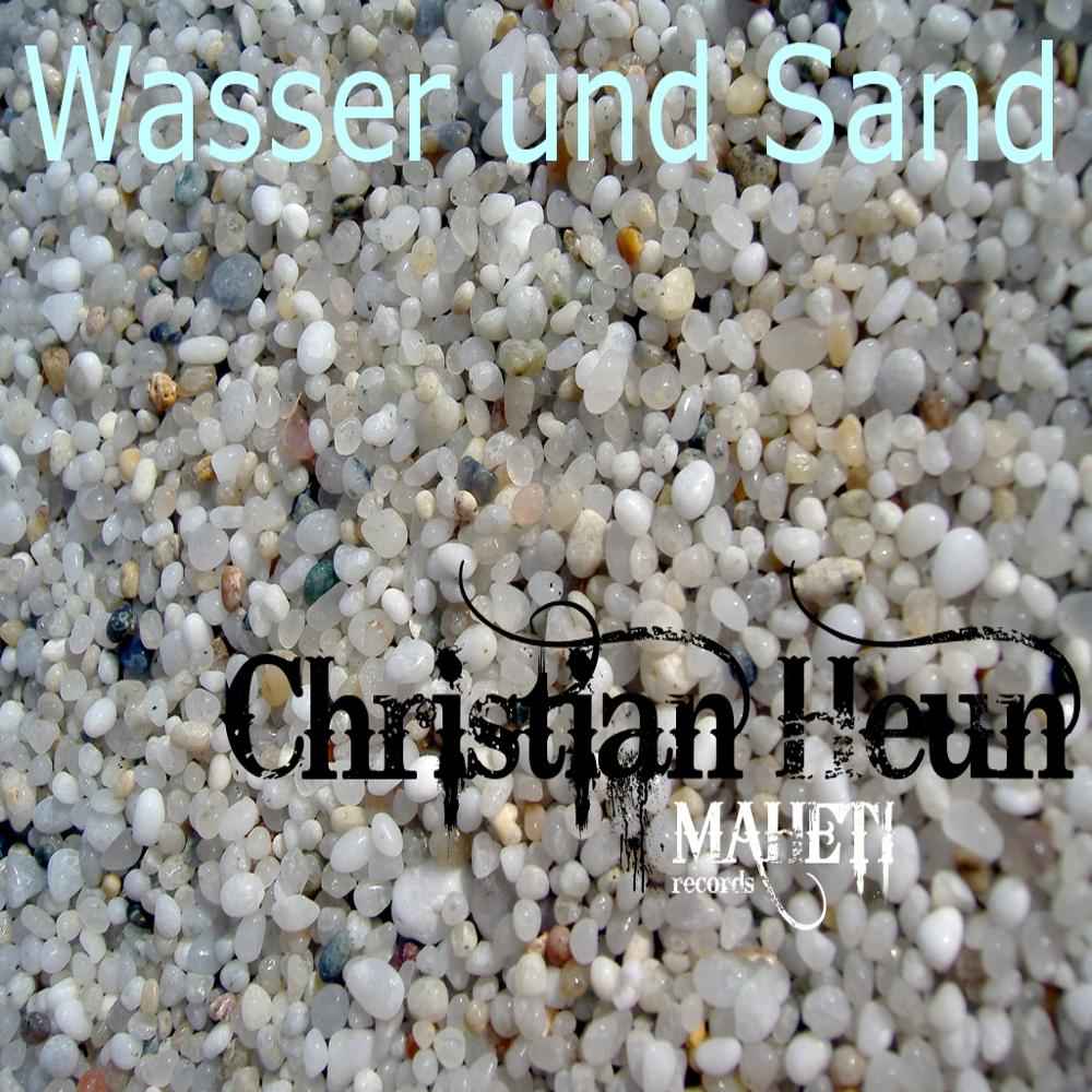 Cover Wasser und Sand