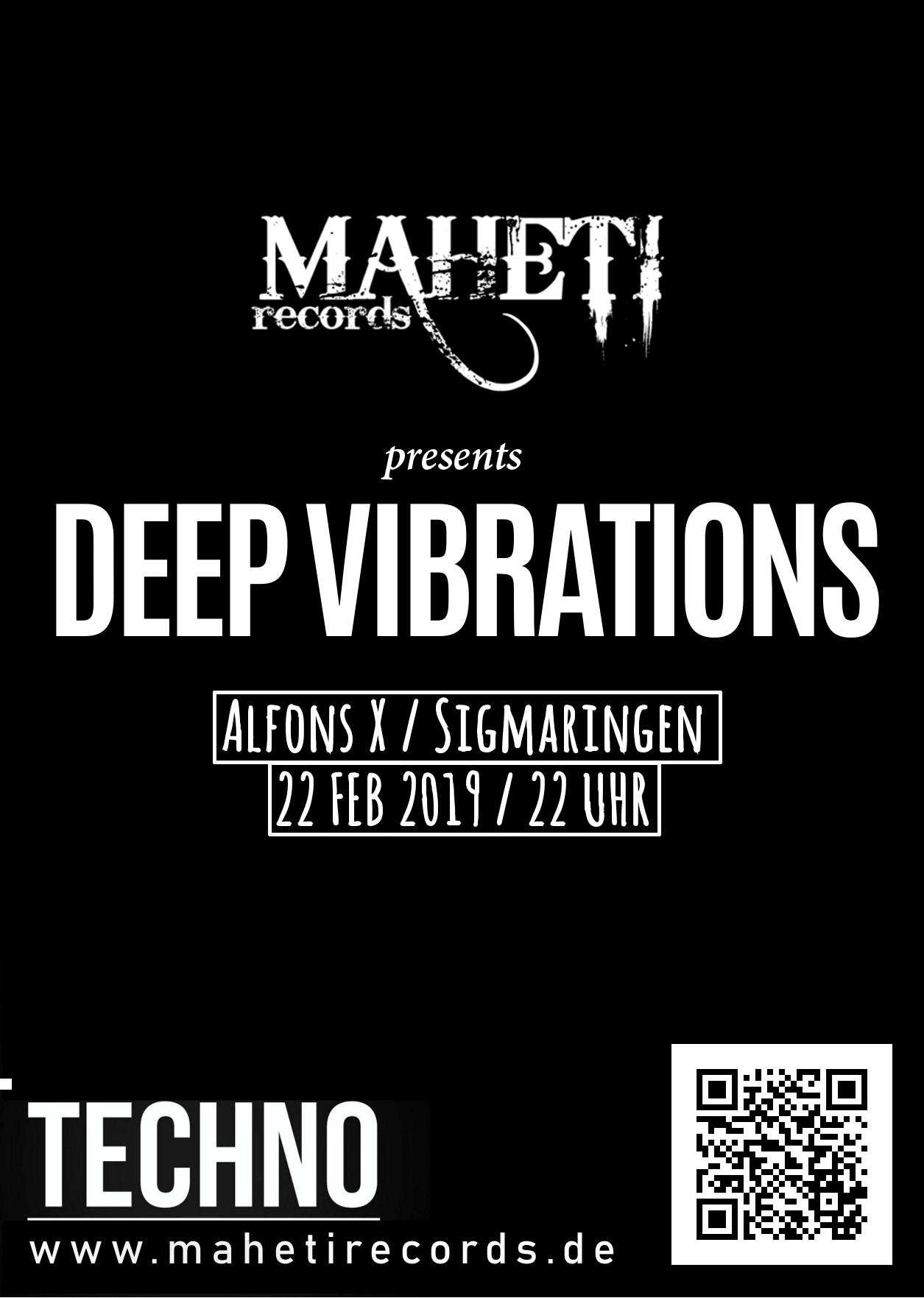 Deep Vib 2019(Flyer sw)