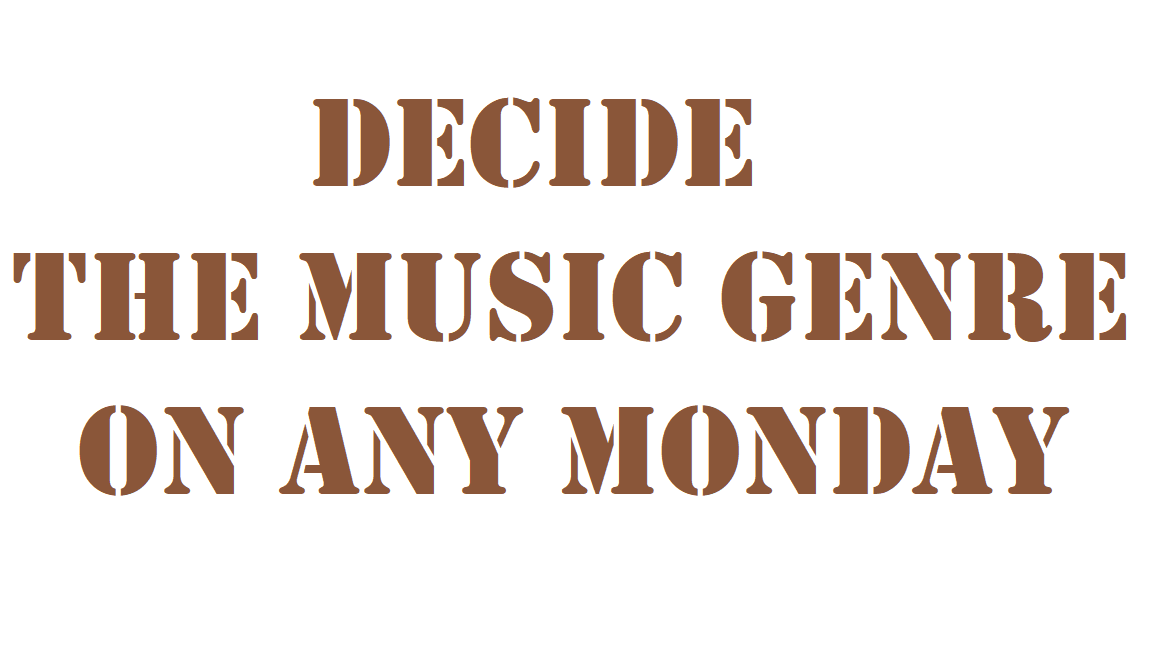 Decide the music genre